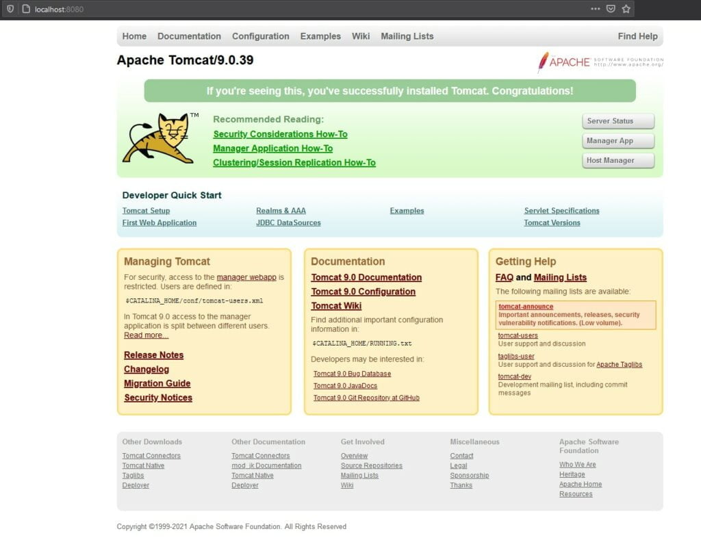 apache-tomcat-9-run